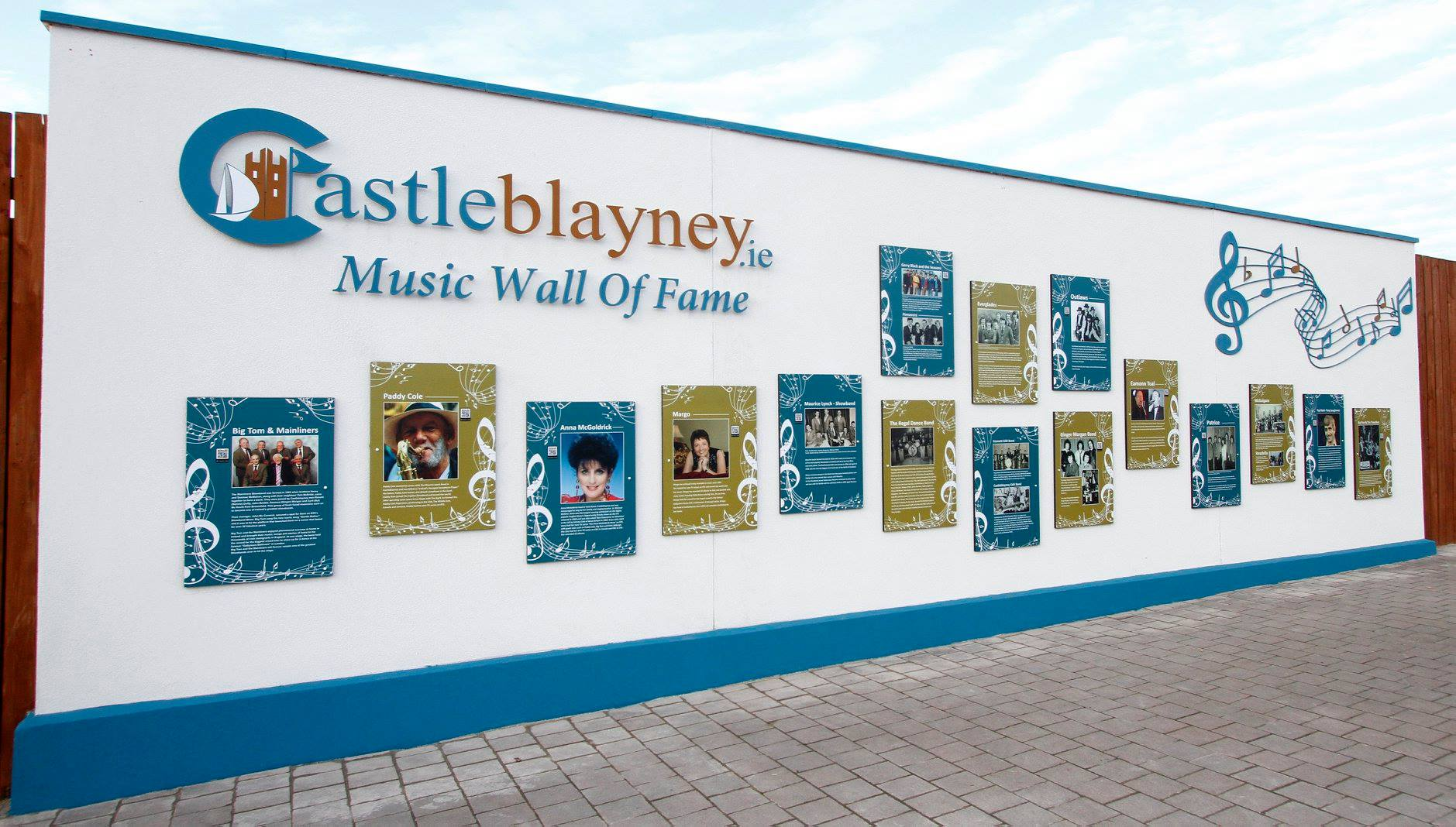 News Castleblayney Circuit Board Wall Murals The Weekend Events Were Made Possible By Regeneration Committee Who Operates Under Auspices Of Carrickmacross Municipal
